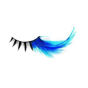 F BLUE EYELASHE
