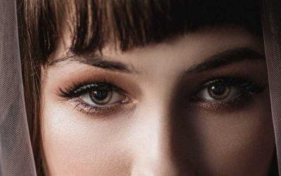 Trendy false eyelashes